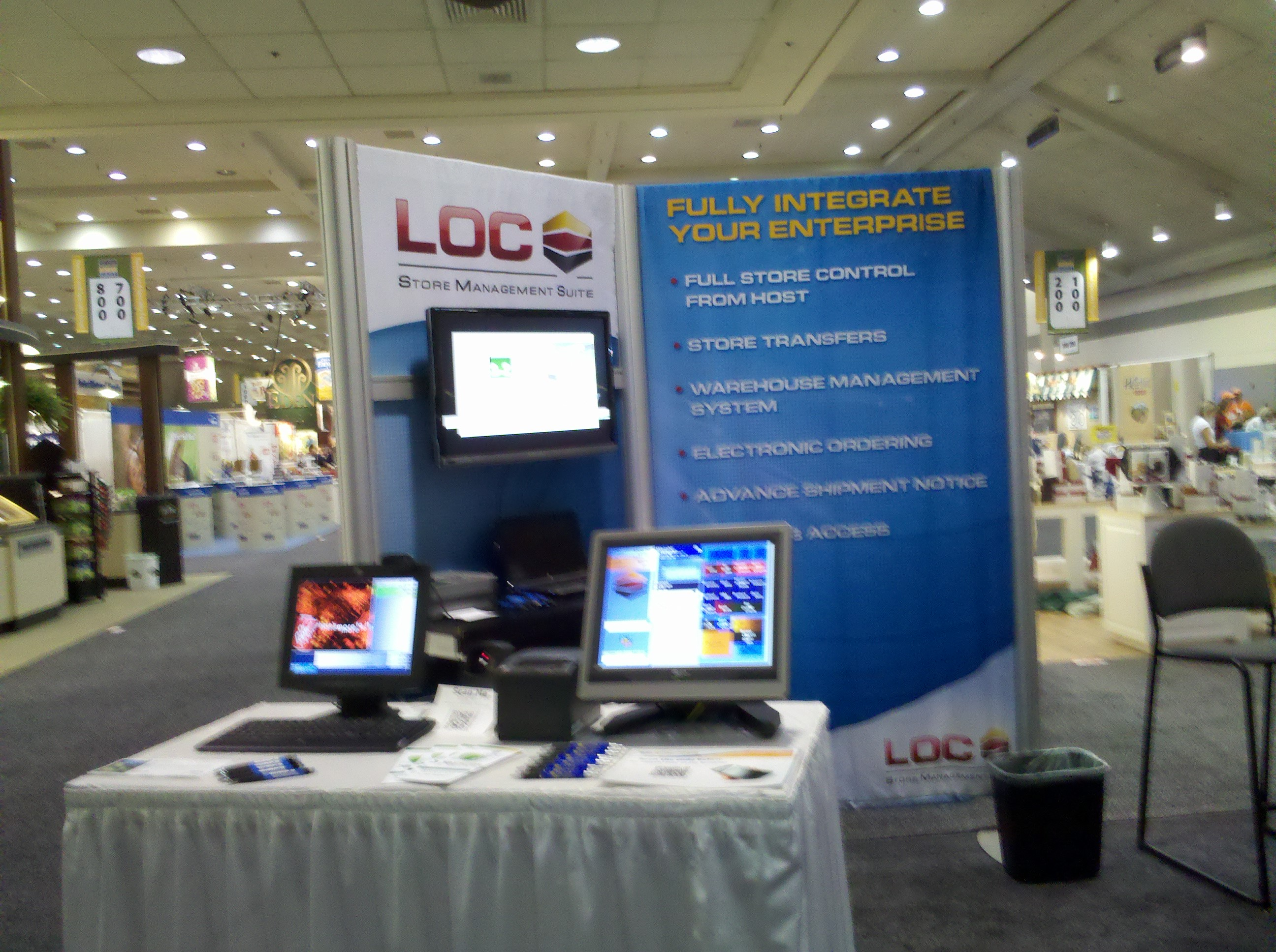DCR and Loc software would like to thank you for visiting us at Expo East 2011 in Baltimore, MD