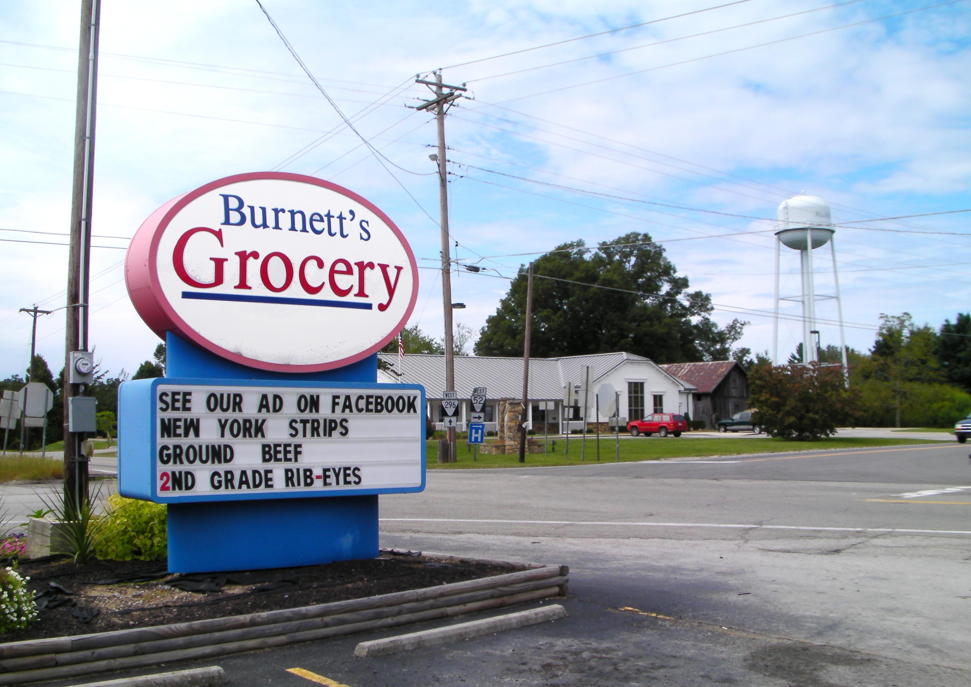 Burnett's Grocery